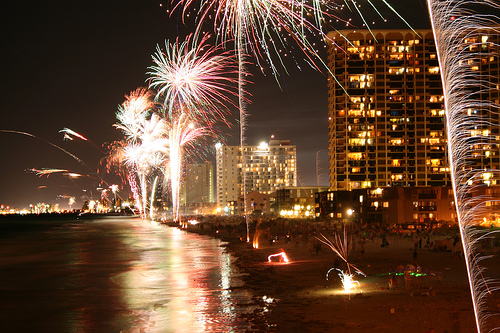 myrtle beach fireworks show