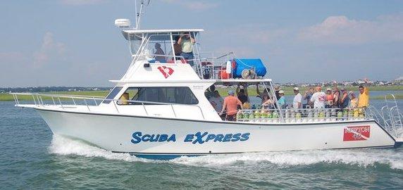 myrtle beach scuba boat