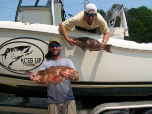 Ace's Up Fishing Charters Myrtle Beach - Murrells Inlet