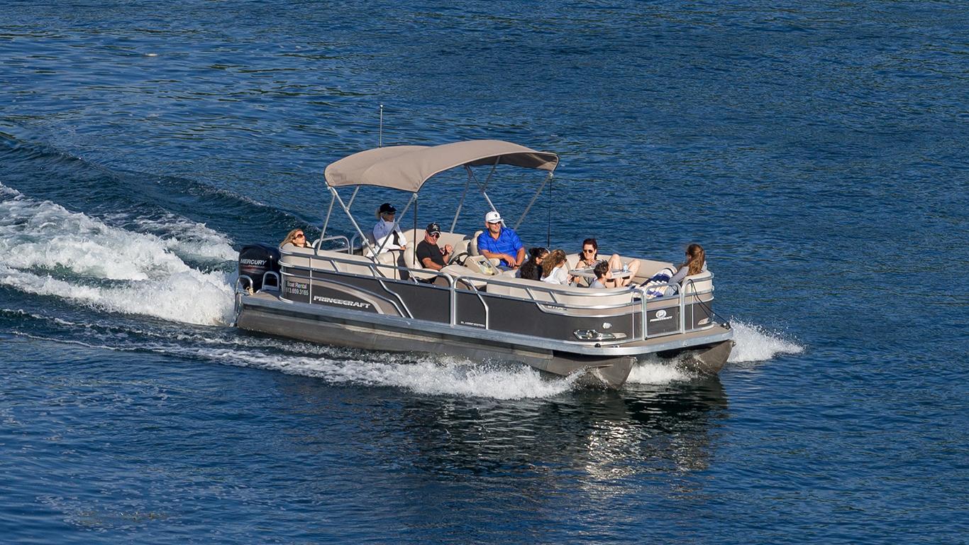 Pontoon Boat Rentals Express Watersports