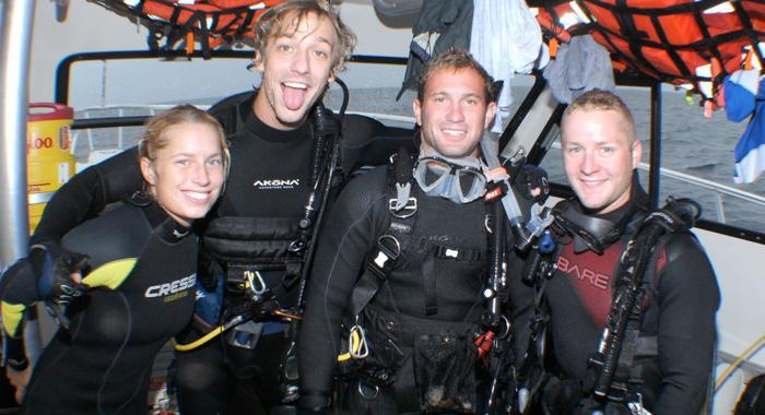 Myrtle Beach Scuba Diving Internship Program