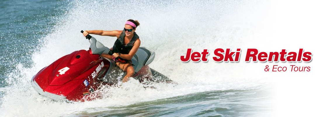 Jet Ski Rentals & Eco Tours in Myrtle Beach